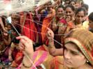 Ladies in Aurangabad celebrate vat purnima festival