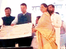 City-based nature group receives Vanshree Award for tree plantation