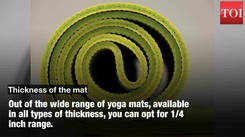 Planning to buy a yoga mat? Here's what you need to know!