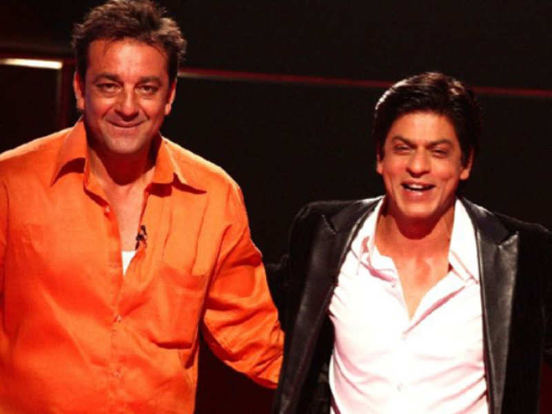 This throwback video of when Sanjay Dutt helped Shah Rukh Khan is a must  watch | Hindi Movie News - Times of India