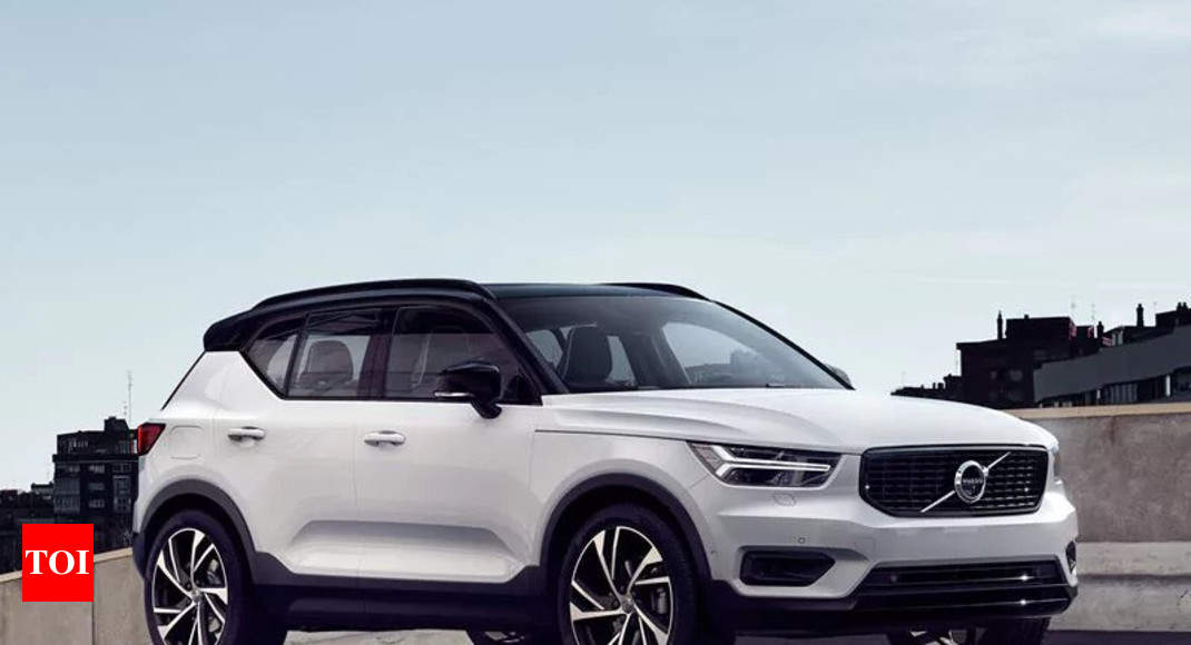 Volvo Xc40 Suv Launched In India At Rs 39 9 Lakh Times Of India