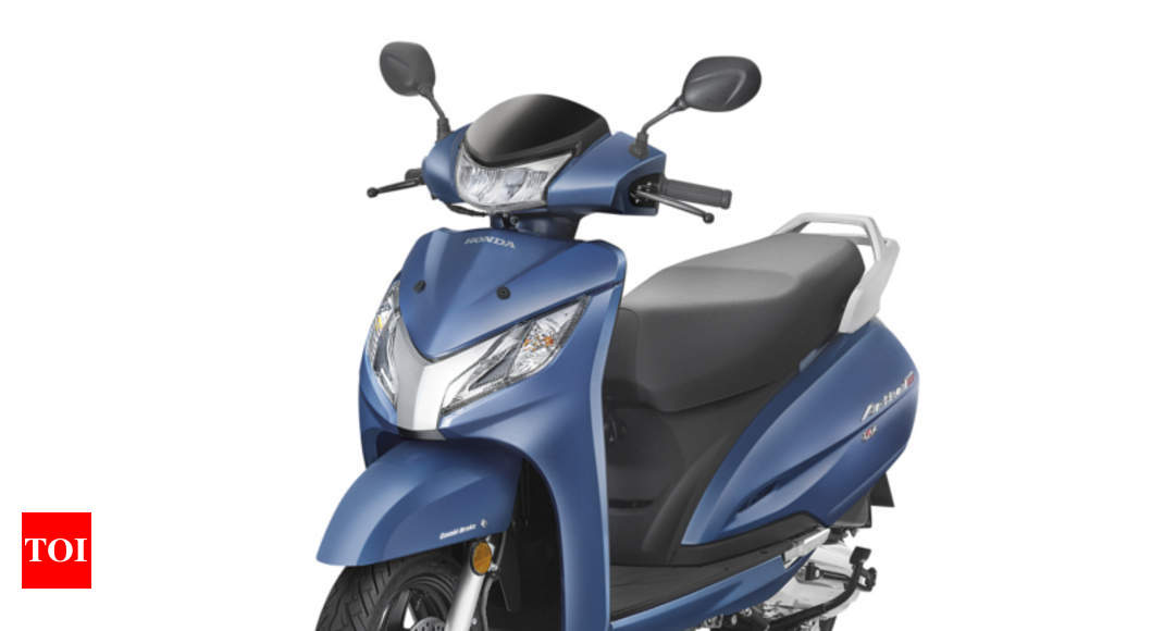 Honda Activa: 2018 Honda Activa 125 Launched With LED Headlight   Times Of  India
