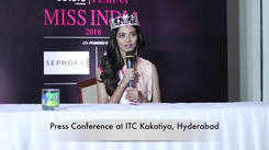 Shreya Rao Kamavarapu Press conference in Hyderabad