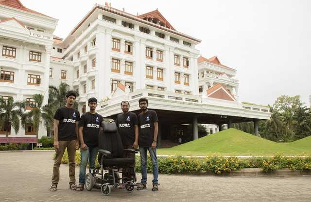 Three engineering students in Tamil Nadu develop self-driving wheelchair