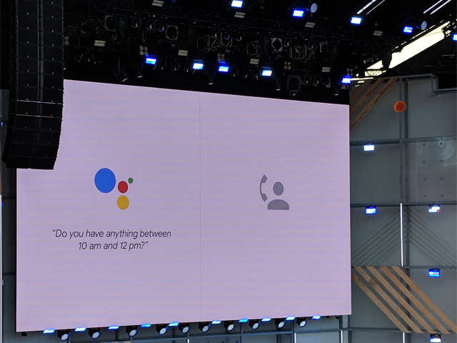 Google's 'Duplex' takes one step closer to help humans, may run call centres