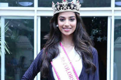 """I dreamt of the title looking at Miss India winners"""