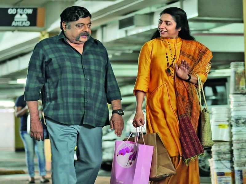 When Ambareesh and Suhasini went on a shopping trip in Bengaluru