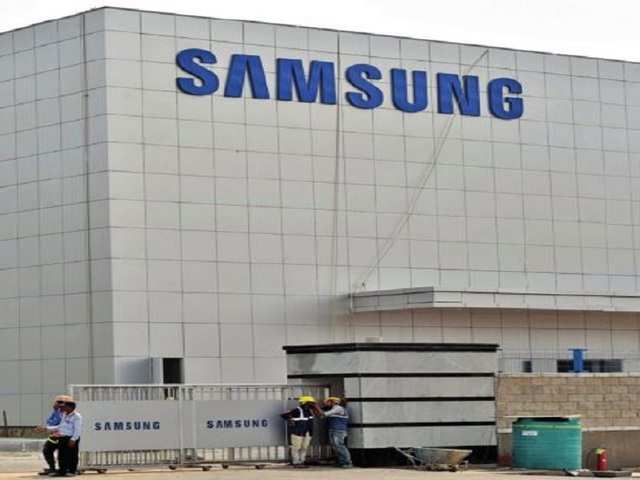 At the Noida facility, company officials said, Samsung will assemble parts sourced from its other agencies