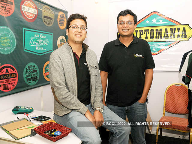 Binny Bansal talked of how the duo developed their roles after launching the company.
