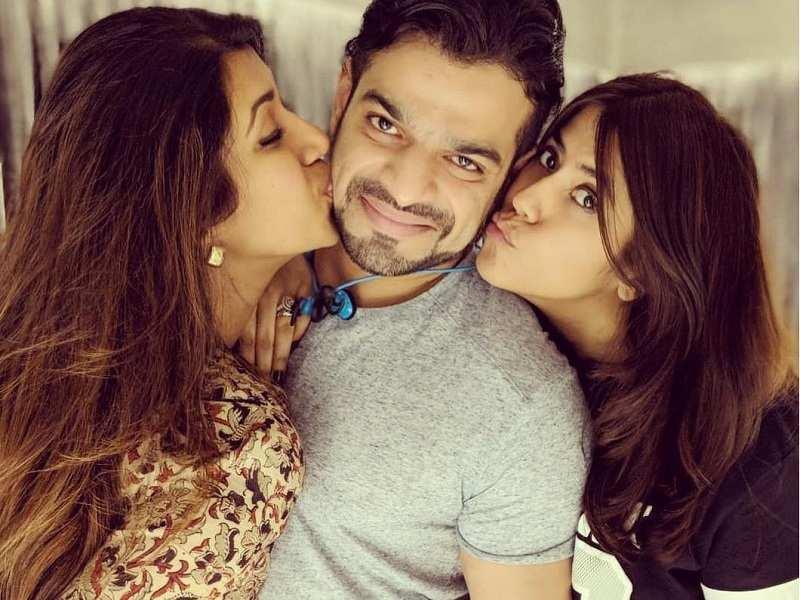 Ekta Kapoor throws a terrace party; Karan Patel, wife Ankita Bhargava make a rare appearance