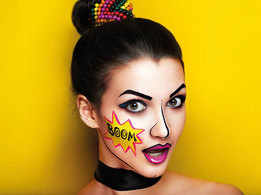 How graffiti face paint can give your make-up an edge