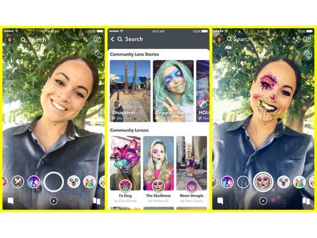 Snapchat announces Lens Explorer