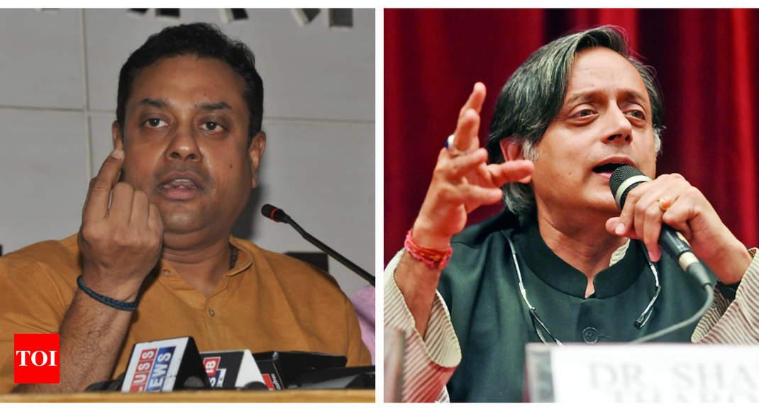 Shashi Tharoor warns of 'Hindu Pakistan' under BJP rule, Sambit Patra hits back |