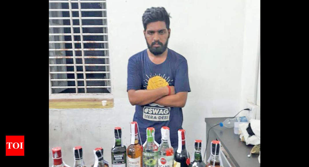 Gujarat engineer starts bootlegging to fund foreign education - Times of India