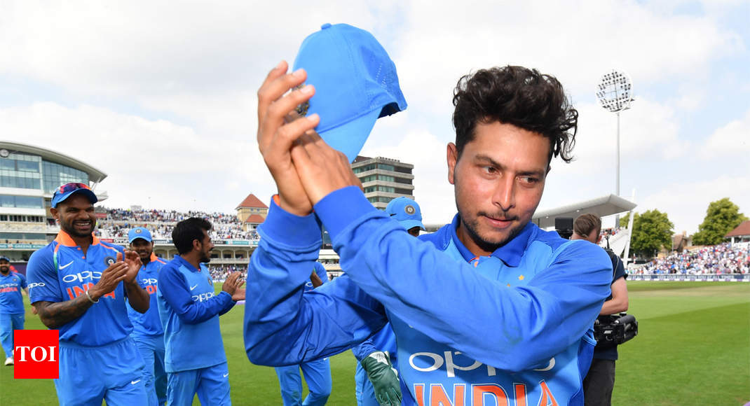 India vs England 1st ODI: Records galore for Kuldeep Yadav - Times of India