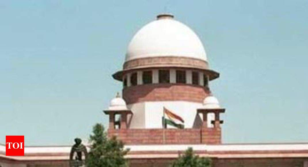 SC rejects demand for referendum on Section 377, says will not go by majority - Times of India