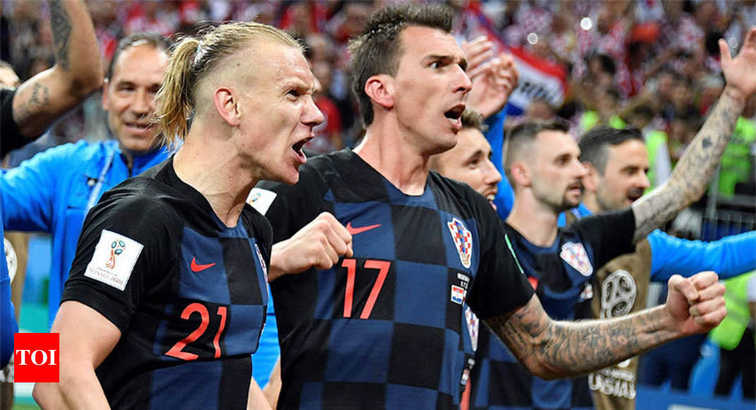 FIFA World Cup 2018: Croatia display grit and class in win over England - Times of India