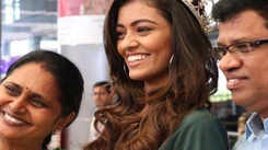 Emotional homecoming for Femina Miss India