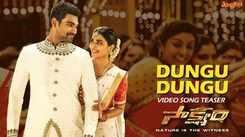 Saakshyam   Song Promo - Dungu Dungu