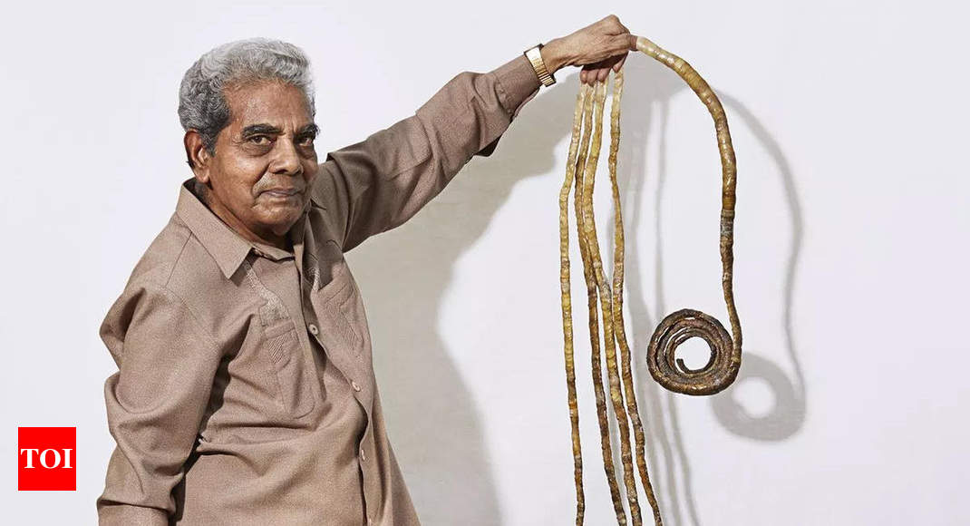 Shridhar Chillal Cuts His Fingernails After 66 Years India News Times Of