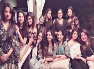 Sandalwood's golden girls live it up at Shilpa Ganesh's bash