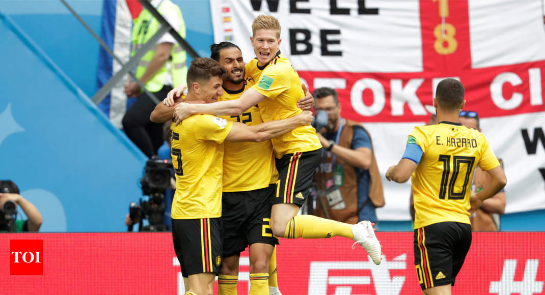 9fcfee1a625b FIFA World Cup 2018  Belgium beat England 2-0 to finish third ...