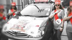 Around 400 women participate in a Mumbai-Lonavala car rally