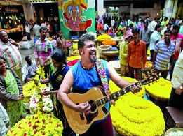 Raghu Dixit's hits the high notes on and off the stage