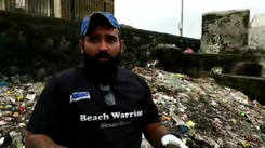 24 hour clean up drive at Worli Fort
