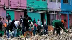 Mumbaikars join day-night Worli Fort clean-up drive