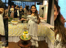 Photos: Mira Rajput's baby shower celebration