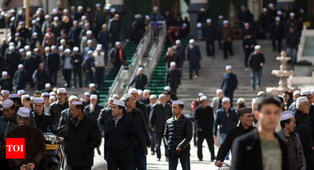 Muslims in China's 'Little Mecca' fear eradication of Islam - Times of India