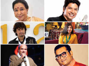 Bollywood singers get together for different versions of one track