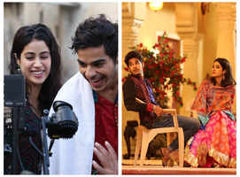 Janhvi-Ishaan bonded on the sets of 'Dhadak'