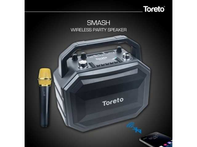Toreto launches new Smash -- Party Speaker at Rs 12,999 in India