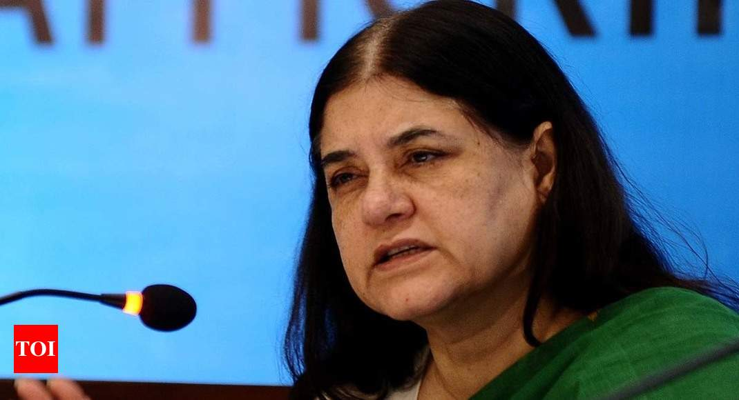 Get all child care institutions registered in a month: Maneka Gandhi to states after reports of illegal adoptions