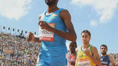 Jinson Johnson breaks two national records in same year