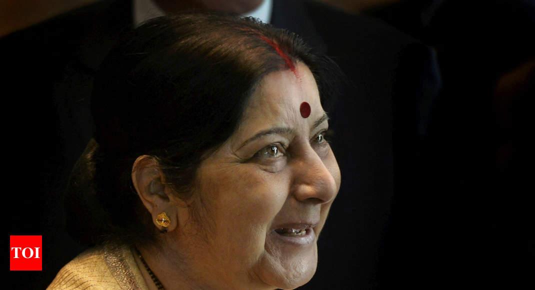 'Priya Putra': How Sushma Swaraj silenced a troll on Twitter