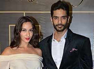 Nora Fatehi's reaction to Angad's marriage