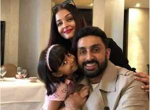 Abhishek joins Aishwarya, Aaradhya in Paris