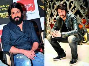 Sudeep and Yash are excited at the return of Naagarahaavu