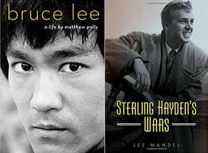 Biographies on Bruce Lee, Sterling Hayden