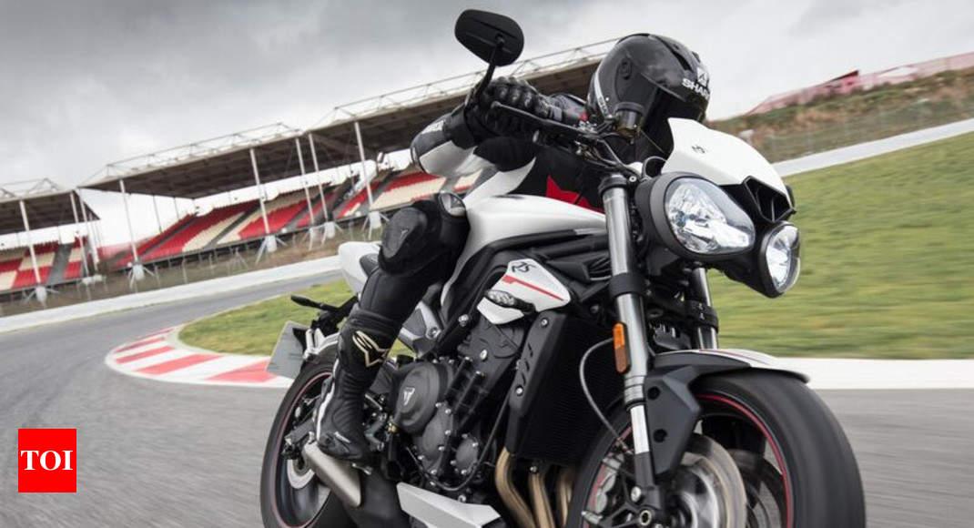 Triumph Motorcycles India Triumph Street Triple Rs Gets Matt Black