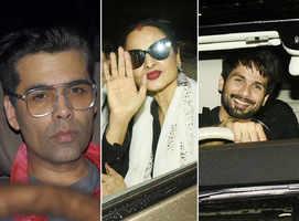 Pics: Celebs at 'Dhadak' screening