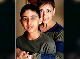 Sonali reveals how son dealt with cancer news