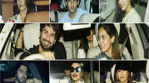 Bollywood celebs attend special screening of Janhvi Kapoor and Ishaan Khatter's 'Dhadak'
