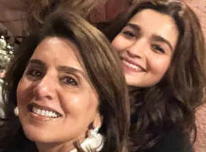 Alia Bhatt and Neetu Kapoor continue to bond on social media