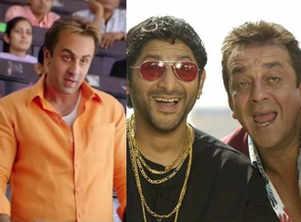 Is Ranbir replacing Arshad in 'Munnabhai 3'?