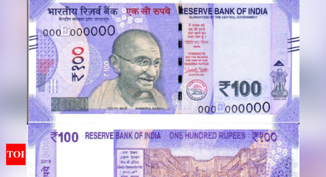 New 100 Rupee Note Rbi To Issue New Rs 100 Notes Shortly All You