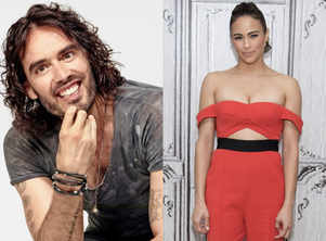 Russell Brand, Paula Patton sign family adventure 'Four Kids and It'